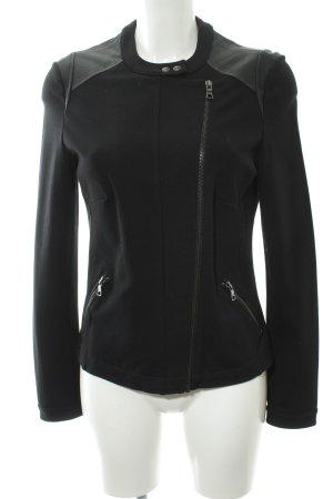 Esprit Softshelljacke schwarz schlichter Stil