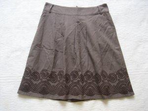 Esprit Jupe plissée brun