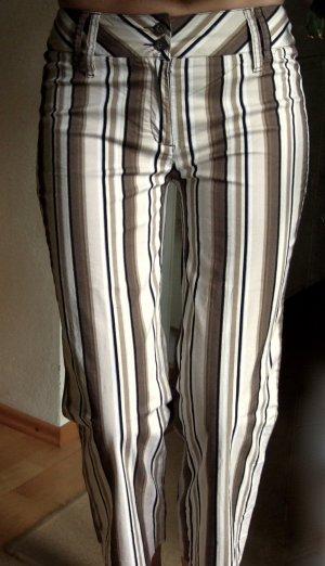 ESPRIT Sommerhose Streifen Straight leg 38 40