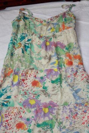 Esprit Vestido corte imperio multicolor