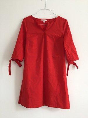Esprit sommerliches rotes Kleid aus Baumwolle