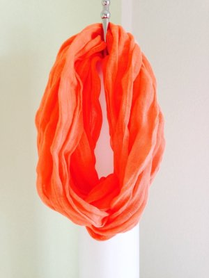 ESPRIT Sommerschal orange NEU!