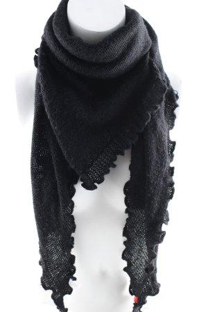 Esprit Sciarpa estiva nero stile semplice