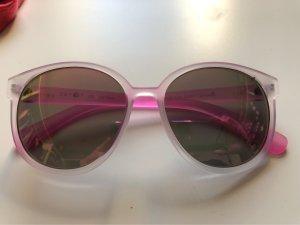 Esprit Gafas de sol redondas gris claro-rosa