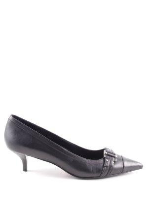 Esprit Spitz-Pumps schwarz Elegant