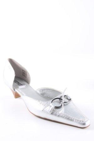 Esprit Stiletto argenté style extravagant