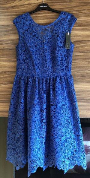 Esprit Lace Dress blue