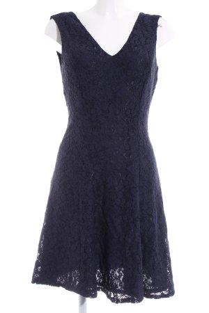 Esprit Spitzenkleid dunkelblau Elegant