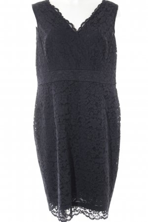 Esprit Lace Dress dark blue elegant
