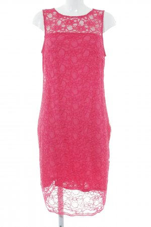 Esprit Lace Dress magenta floral pattern lace look