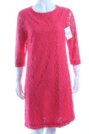 Esprit Spitzenkleid pink Spitzen-Optik