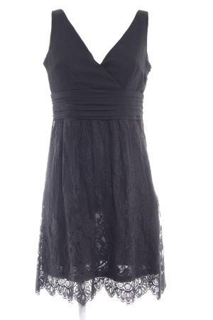 Esprit Spitzenkleid schwarz Elegant
