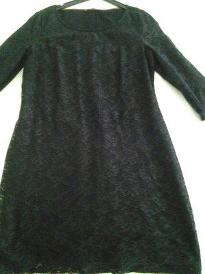 Esprit Spitzenkleid schwarz Neu Gr.42/L