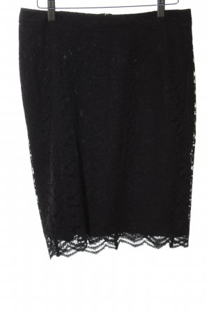 Esprit Lace Skirt black elegant