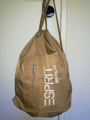 Esprit Sports Bag camel nylon