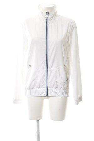 Esprit Veste de sport blanc-bleu style décontracté