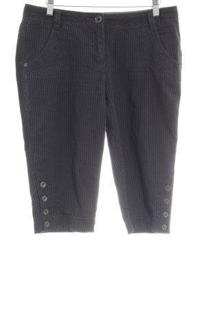 Esprit Sports Pantalon capri bleu-bleu foncé rayure fine style décontracté