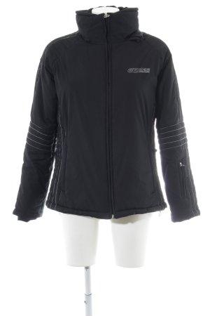 Esprit Sports Sportjacke schwarz-silberfarben sportlicher Stil