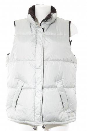 Esprit Sports Quilted Jacket light grey athletic style