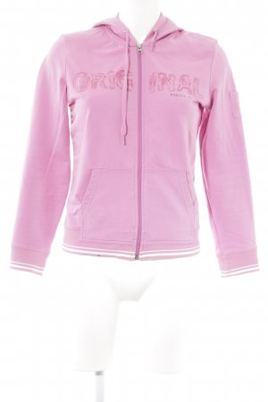 Esprit Sports Giacca fitness rosa caratteri stampati stile casual