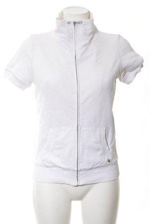 Esprit Sportweste weiß-wollweiß sportlicher Stil