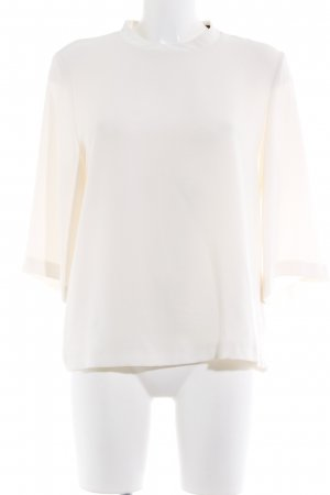 Esprit Stehkragenbluse creme Business-Look