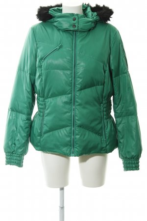Esprit Quilted Jacket green casual look