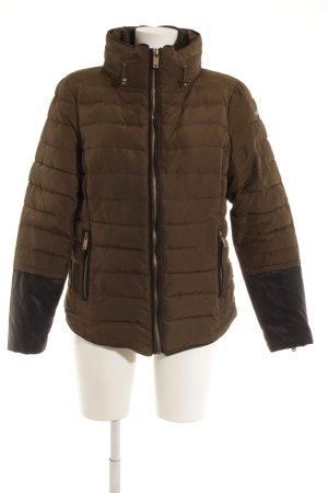 Esprit Gewatteerd jack khaki quilten patroon casual uitstraling