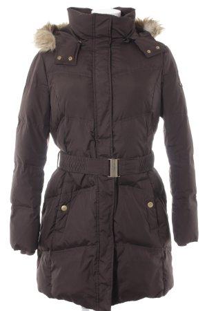 Esprit Manteau matelassé brun style décontracté