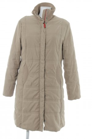 Esprit Quilted Coat camel-red quilting pattern casual look