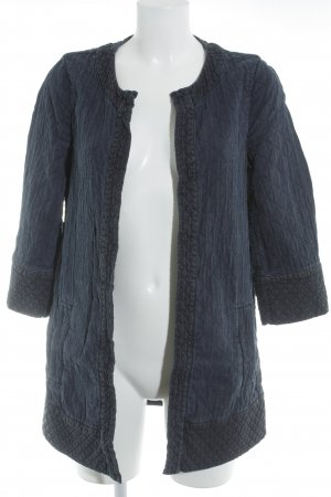 Esprit Steppmantel dunkelblau Steppmuster Casual-Look