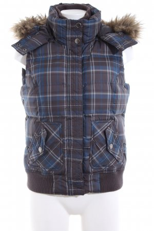 Esprit Quilted Gilet check pattern casual look