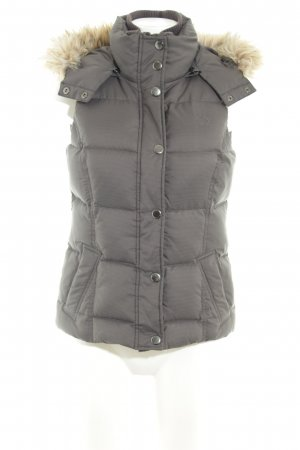 Esprit Quilted Gilet anthracite casual look
