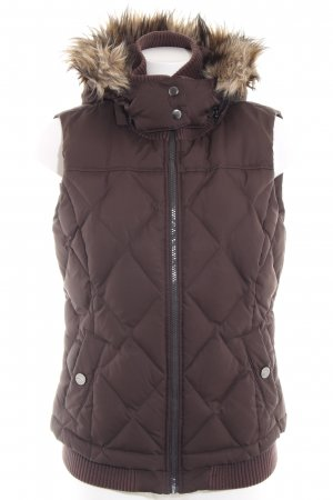Esprit Quilted Gilet brown casual look