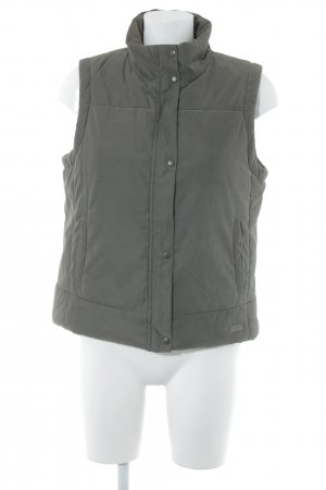 Esprit Quilted Gilet khaki casual look