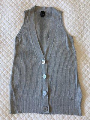 Esprit Knitted Vest light grey viscose