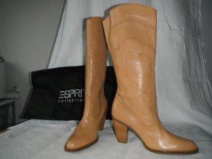 ESPRIT Stiefel Gr. 37 Leder