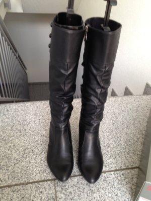 Esprit Stiefel schwarz 39 neuwertig
