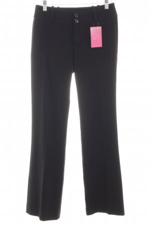 Esprit Stoffhose schwarz Allover-Druck Business-Look