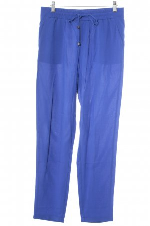 Esprit Stoffhose blau Beach-Look