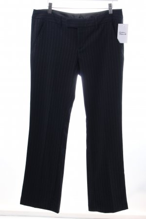 Esprit Stoffhose dunkelblau Nadelstreifen Business-Look