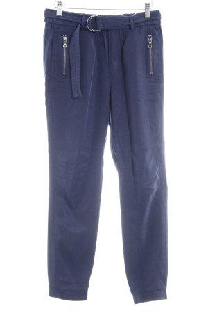 Esprit Stoffhose dunkelblau schlichter Stil