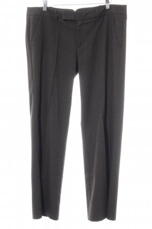 Esprit Stoffhose dunkelbraun Business-Look