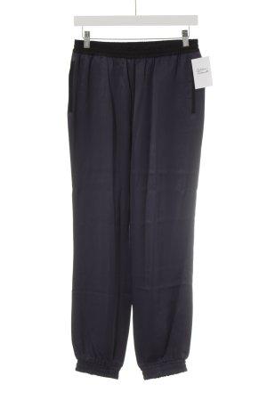 Esprit Stoffhose graublau-schwarz schlichter Stil
