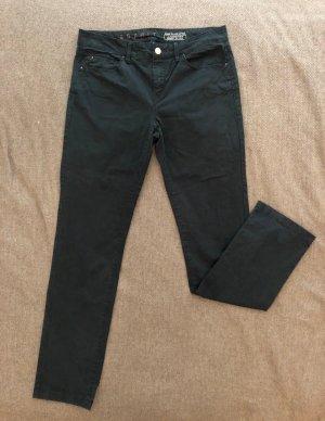 ESPRIT Stoffhose, Größe 38, schwarz, gerader Schnitt, normale Bundhöhe