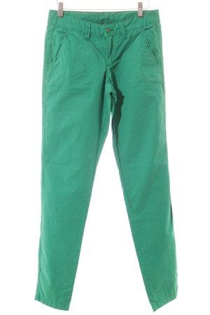 Esprit Stoffhose grün Casual-Look
