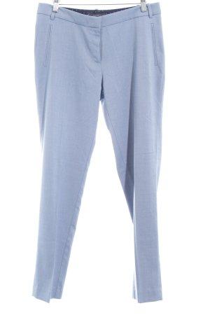 Esprit Stoffhose himmelblau Streifenmuster Business-Look