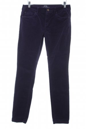 Esprit Jersey Pants lilac striped pattern casual look