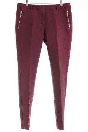 Esprit Stoffhose purpur Street-Fashion-Look