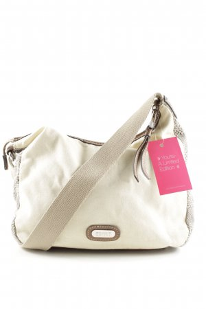 Esprit Canvas Bag natural white-brown casual look
